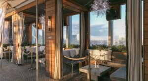 The Cozy Rooftop Cabanas At L27 In Nashville Offer Some Of The Best Views Of The City's Skyline