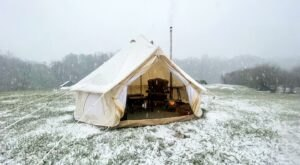 Sip Delicious Wine In A Private, Heated Tent When You Visit Iron Heart Winery In Virginia