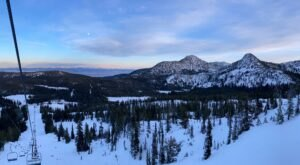 With A Base Elevation Of 7,100 Feet, Anthony Lakes Resort Is An Awesome Winter Playground In Oregon