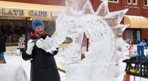 A Family Visit To Michigan's Magical Ice Fest Is The Most Fun You'll Have All Winter