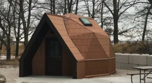 Visitors Can Soon Stay In A Geodesic Dome Cabin At Michigan's Port Crescent State Park