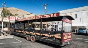 Step Back In Time And Hop Aboard An Old-Fashioned Trolley Ride For A Narrated Tour Of Virginia City, Nevada