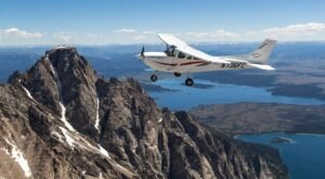 Take A Scenic Flight Around The Teton Mountain Range In Idaho For An Unforgettable Adventure