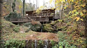This Cabin Built Directly Over A Waterfall Is The Perfect Weekend Getaway In The Mountains Of Tennessee