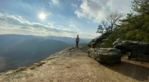 Take A Sunset Hike In Kentucky To The Sweeping Views From Indian Fort Mountain