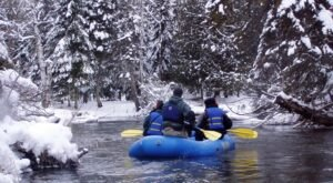 Take A Winter Rafting Trip In Michigan For An Unforgettable Cold Weather Adventure