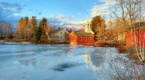 Harrisville Is A Small Town In New Hampshire That Offers Plenty Of Peace And Quiet