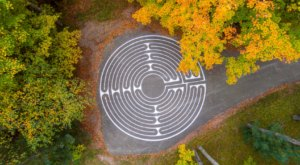 Most People Don't Know About This Painted Labyrinth Hiding In The Northwoods Of Wisconsin