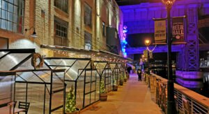Dine Outdoors Throughout The Winter By Booking A Hop House At Lakefront Brewery In Wisconsin