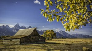 Wyoming's Iconic Moulton Barns Are One Of The Most Photographed Landmarks In The Country