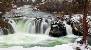 The Steelhead Falls Trail Is A Beautiful Winter Waterfall Trail In Oregon