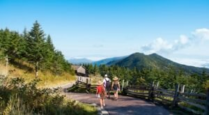 Explore 4,789 Acres Of Unparalleled Views Of Mountains On The Scenic Summit Trail In North Carolina