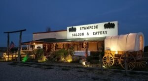 Kick Up Your Heels With Dinner And A Show At The Stampede Saloon and Eatery In Wyoming