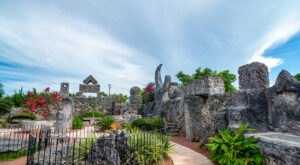 Florida's Rock Garden And Grotto, Coral Castle Is A Work Of Art