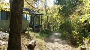 Surrounded By A Serene Forest, The Woodlands Bed And Breakfast Is An Ideal Spot For Any Iowa Nature Lover