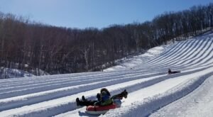 With 16 Lanes, Missouri's Largest Snowtubing Park Offers Plenty Of Space For Everyone