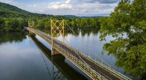 The Little Golden Gate Is A Remarkable Bridge In Arkansas That Everyone Should Visit At Least Once