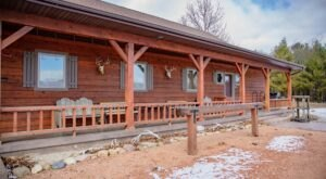 You'll Find A Luxury Glampground At Edenwood Ranch And Preserve In Wisconsin, It's Ideal For Winter Snuggles And Relaxation