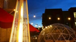 Sip Wine In An Igloo This Winter At Nineteen09 In Wisconsin