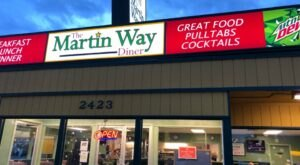 Enjoy All-Day Breakfast At Martin Way Diner, A Neighborhood Gem In Washington