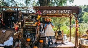 The Old-Fashioned Farm Tour In Southern California At Fort Cross Old-Timey Adventures Is Fun For The Whole Family