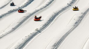 With 14 Lanes, West Virginia's Largest Snowtubing Park Offers Plenty Of Space For Everyone