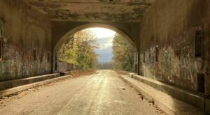 Journey Along The Abandoned PA Turnpike On The Pike 2 Bike Trail In Pennsylvania