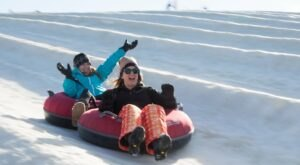 With 22 Lanes, Wisconsin's Largest Snowtubing Park Offers Plenty Of Space For Everyone
