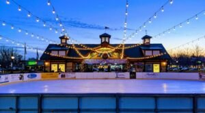 The Outdoor Ice Rink At Riley Park In Michigan Will Add A Dash Of Magic To Your Winter