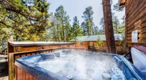 Soak In A Hot Tub Surrounded By The Natural Beauty At These 5 Cabins In New Mexico