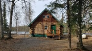 Escape To This Lakeside Cabin In Alaska This Winter To Refresh And Recharge