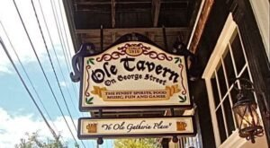 Sip Wine And Mingle With Ghosts At Ole Tavern, A Famous Haunted Bar In Mississippi