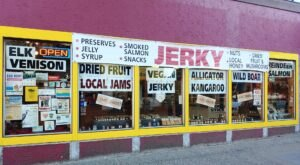 The Beef Jerky Outlet In Oregon Where You'll Find More Than 36 Tasty Varieties