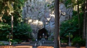 Oregon's Shrine And Grotto, National Sanctuary of Our Sorrowful Mother Is A Work Of Art
