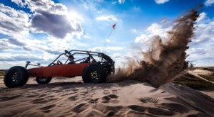 Bring A UTV In Kansas And Go Off-Roading Through The Syracuse Sand Dunes