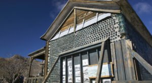 See The Most Magnificent Glass Bottle House That's Hiding In A Nevada Ghost Town