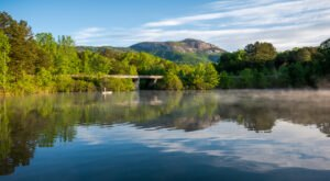 Explore 3,083 Acres Of Unparalleled Views Of Mountains On The Scenic Lakeside Trail In South Carolina