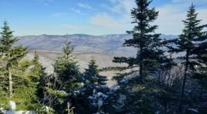 Hike Or Snowshoe New York's Giant Ledge And Panther Mountain Trail For Some Truly Stunning Views