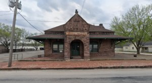 Dine At The Depot, An Old 1887 Train Depot Turned Kansas Restaurant