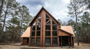 You'll Have A Front Row View Of The Oklahoma Woods In These Cozy Cabins