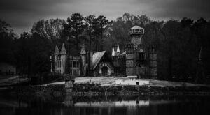 A Far Cry From Its Regal Days, McGee's Castle In Mississippi Is Abandoned And Slowly Fading Away