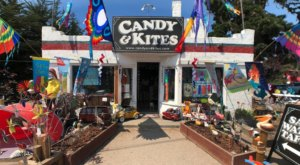 Candy & Kites Is A Happy Little Store On The Side Of The Highway In Northern California