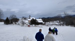 Exploring The Trails Of Prescott Farm Is The Perfect New Hampshire Winter Outing For Beginners