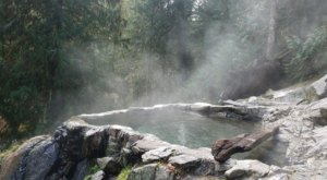 Take A Nice, Hot Soak At Weir Creek Hot Springs In Idaho, Just A Half-Mile Hike From The Highway