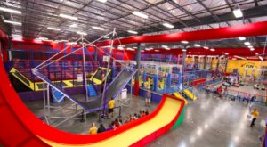 Planet Obstacle Is The World's Largest Indoor Obstacle Park In Florida That's Insanely Fun