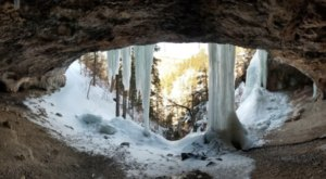 South Dakota's Spearfish Community Caves Looks Even More Spectacular In the Winter