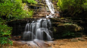 The Angel Falls Trail In Georgia Is A 2-Mile Out-And-Back With A Waterfall Finish