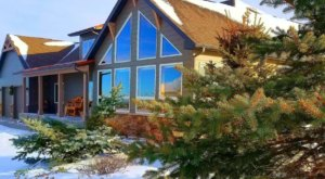Watch Snow Fall From The Soaking Tub Of This Luxurious Montana Chateau