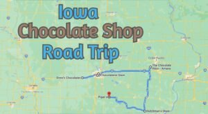 The Sweetest Road Trip in Iowa Takes You To 7 Old School Chocolate Shops