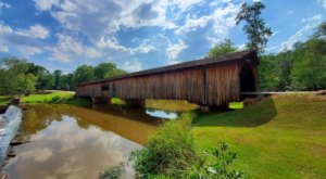 The Longest Covered Bridge In Georgia, Watson Mill Bridge, Is 229 Feet Long